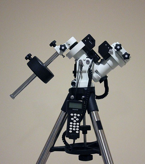 ZEQ25 with polar scope w 1.5inch tripod